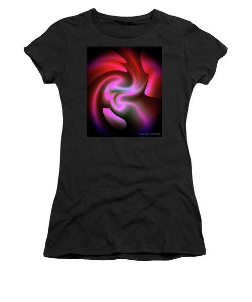 Women's T-Shirt featuring the digital art Heartbeats by Visual Artist Frank Bonilla