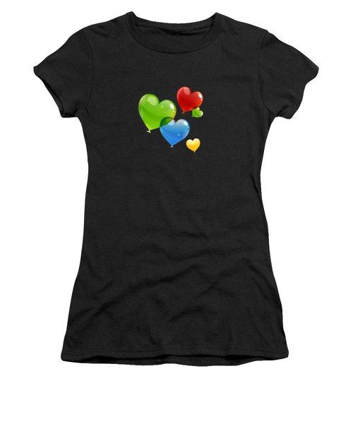 Hearts 11 T-shirt Women's T-Shirt (Athletic Fit)