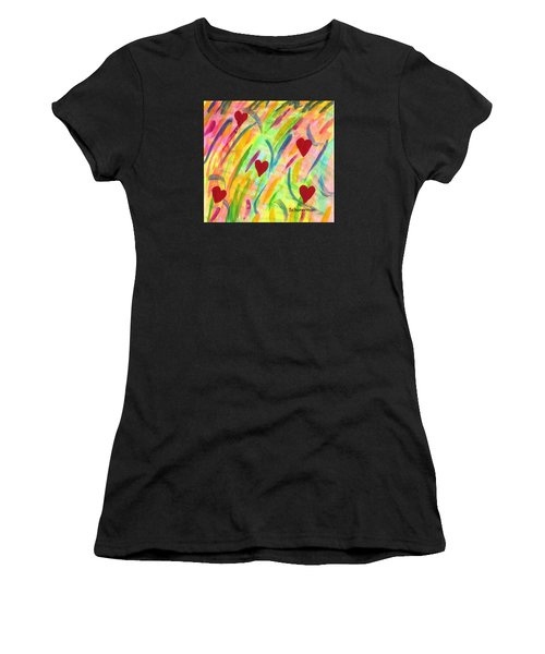 heARTs of Spring Women's T-Shirt