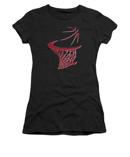 Heat Basketball Hoop Women's T-Shirt