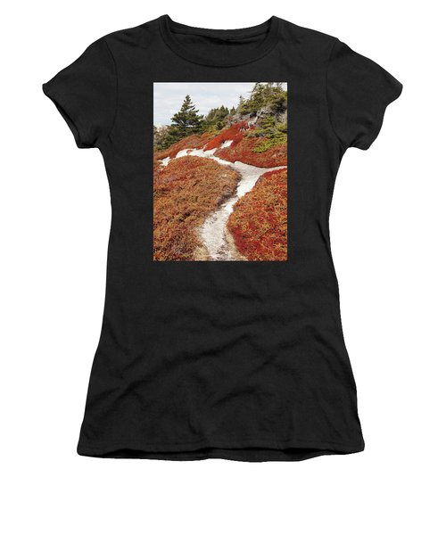 Heather Run Women's T-Shirt (Athletic Fit)