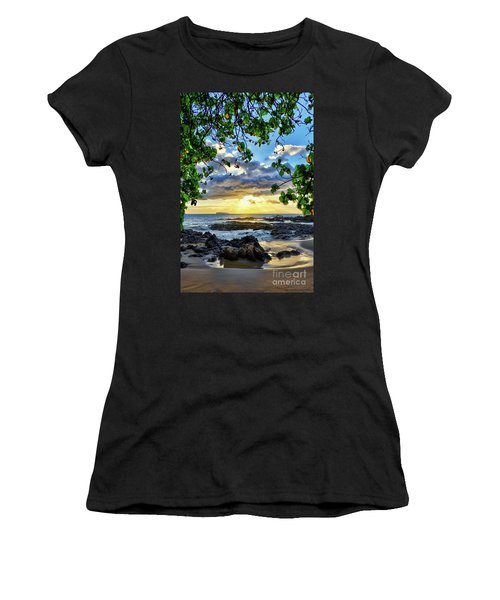 Heaven On Maui Women's T-Shirt (Athletic Fit)