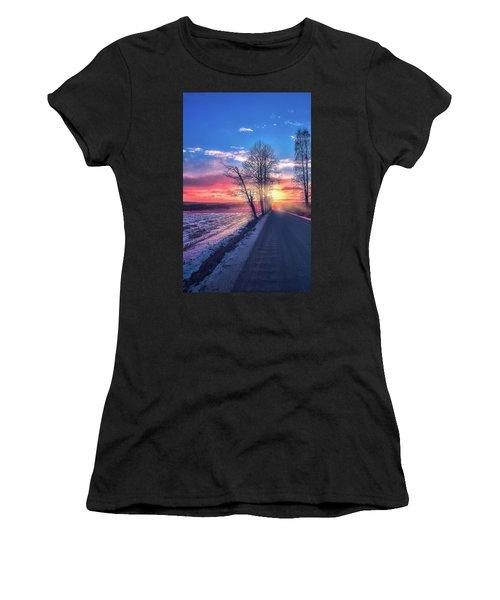 Heavenly Journey Women's T-Shirt (Athletic Fit)