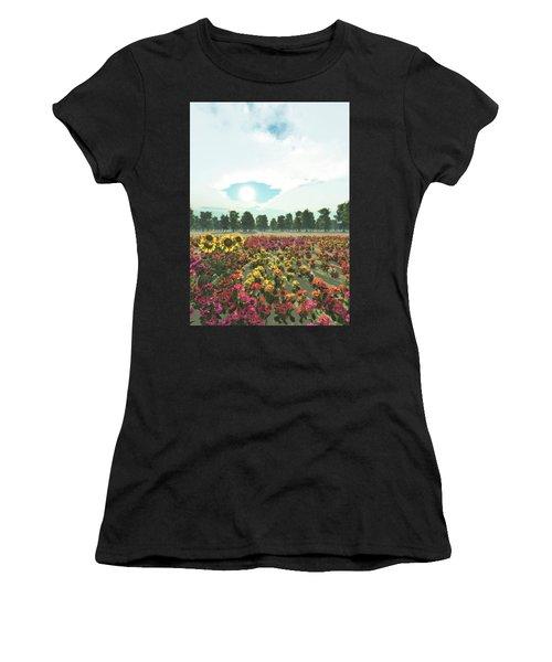 Heavens Eye Women's T-Shirt (Athletic Fit)