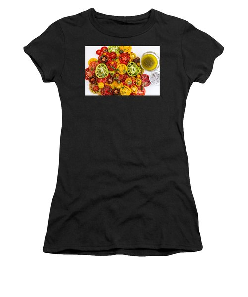 Heirloom Tomato Slices Women's T-Shirt