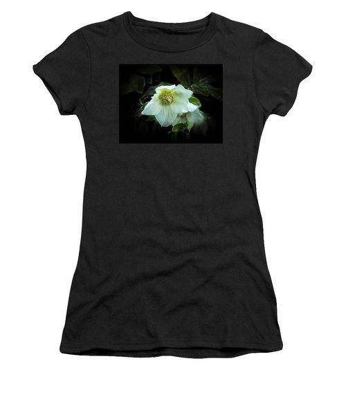 Helleborus Through The Darkness Women's T-Shirt (Athletic Fit)