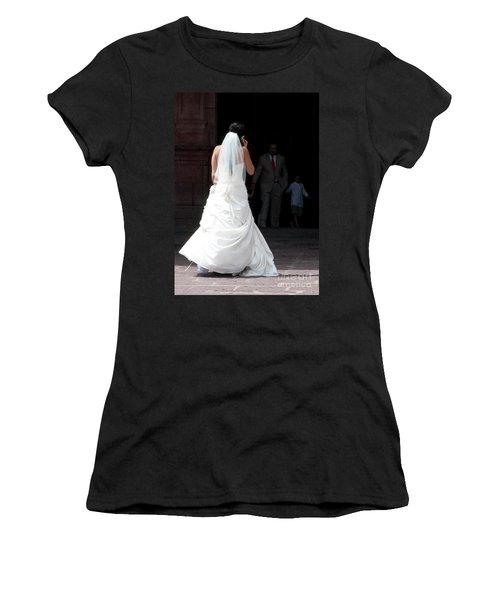 Hello Mama...i'm Not Sure.. Women's T-Shirt
