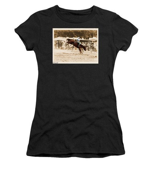 Helluva Rodeo-the Ride 4 Women's T-Shirt (Athletic Fit)