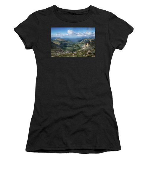 Helms Lake Valley 2 Women's T-Shirt (Athletic Fit)