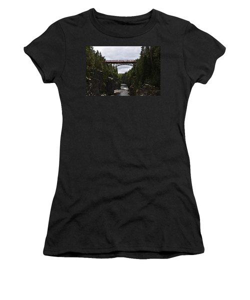 Helvetefallet Dalarna Sweden Women's T-Shirt
