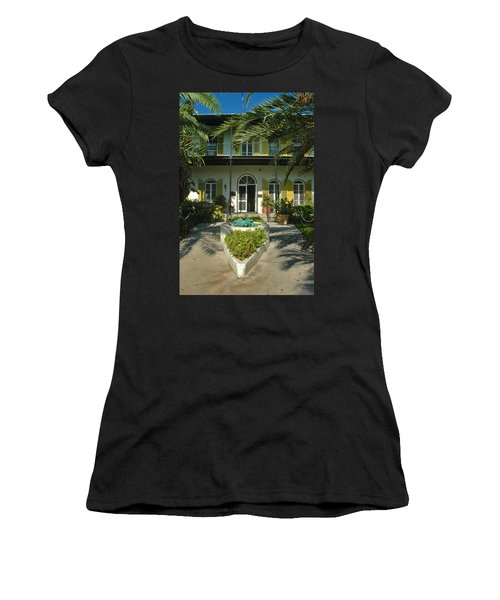 Hemingways House Key West Women's T-Shirt