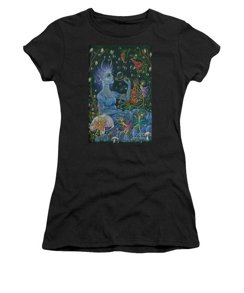 Her Caterpillar Majesty Women's T-Shirt (Athletic Fit)