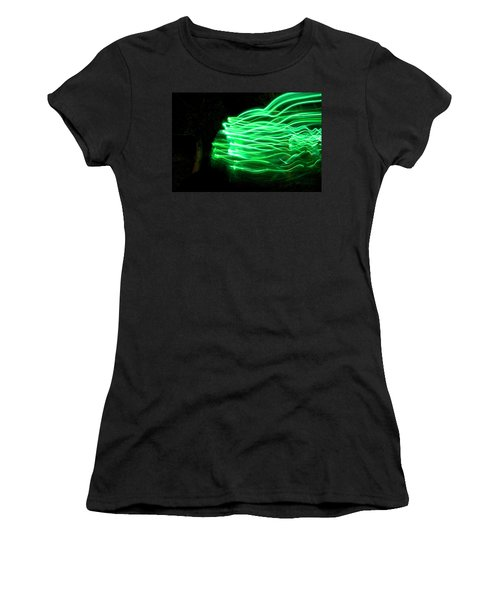 Her Spirit Lives In The Woods Women's T-Shirt (Athletic Fit)