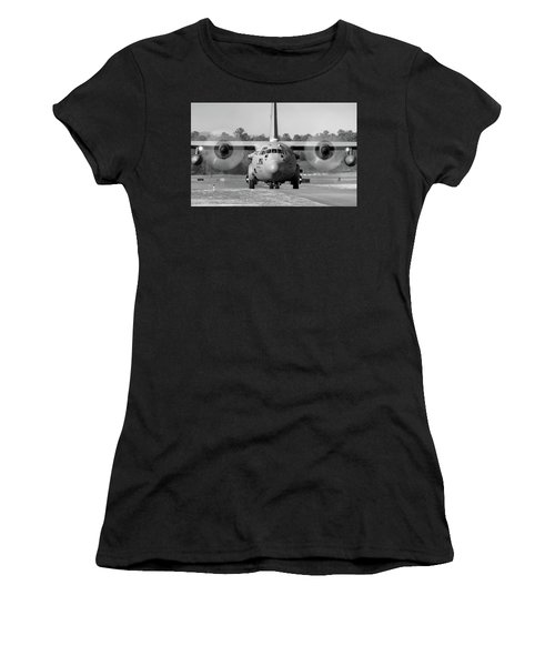 Hercules In Black And White Women's T-Shirt