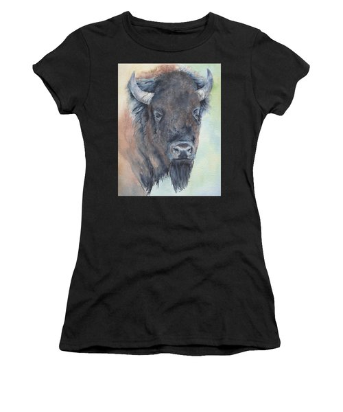 Here's Looking At You - Bison Women's T-Shirt