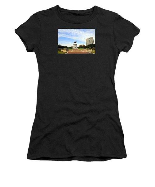 Herman Park 3 Women's T-Shirt (Athletic Fit)