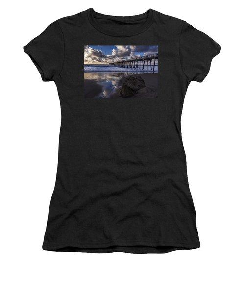 Hermosa Beach Pier Women's T-Shirt