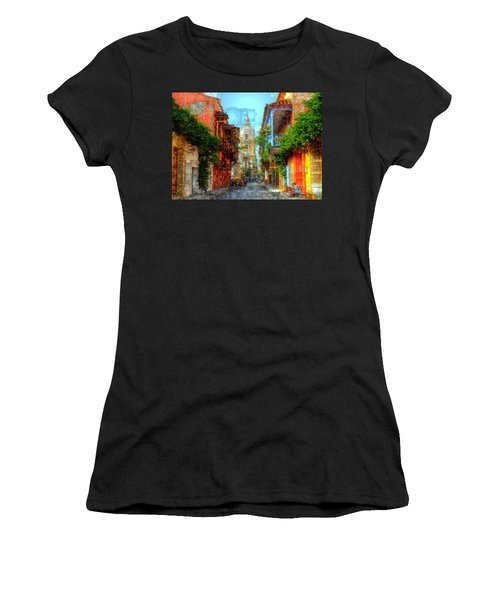 Heroic City, Cartagena De Indias Colombia Women's T-Shirt