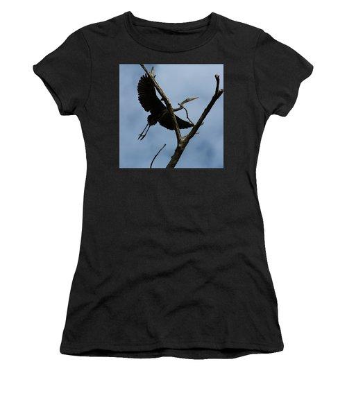 Heron Flight Women's T-Shirt