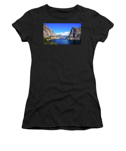 Hetch Hetchy Reservoir Yosemite Women's T-Shirt (Athletic Fit)