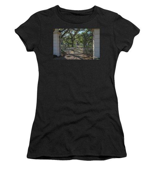 Heyman House Gates 1 Women's T-Shirt
