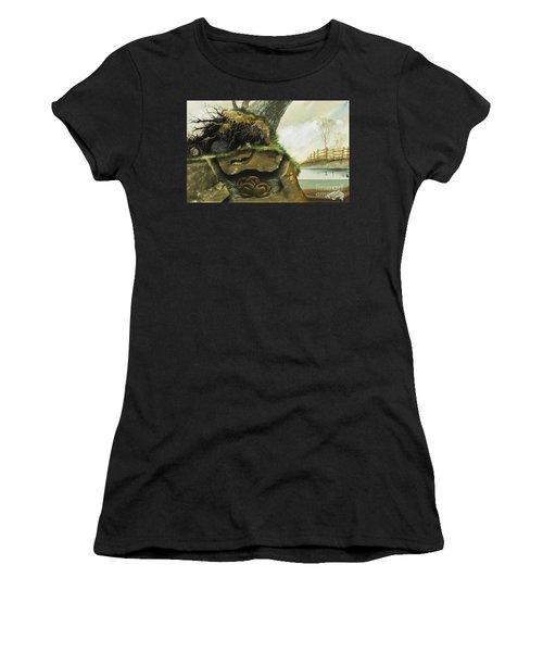 Hibernation Women's T-Shirt (Athletic Fit)
