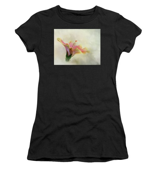 Hibiscus Art Women's T-Shirt (Athletic Fit)