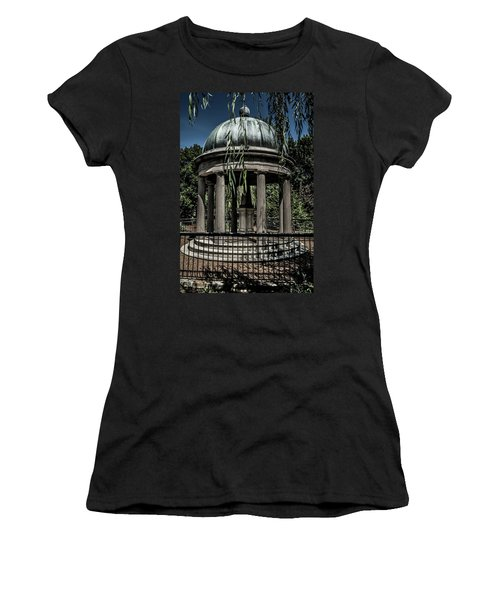 Women's T-Shirt (Athletic Fit) featuring the photograph Hickory Sleeps by James L Bartlett