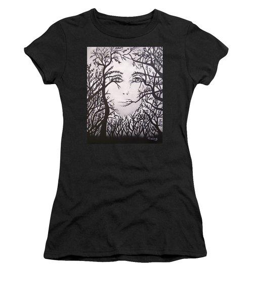 Hidden Face Women's T-Shirt