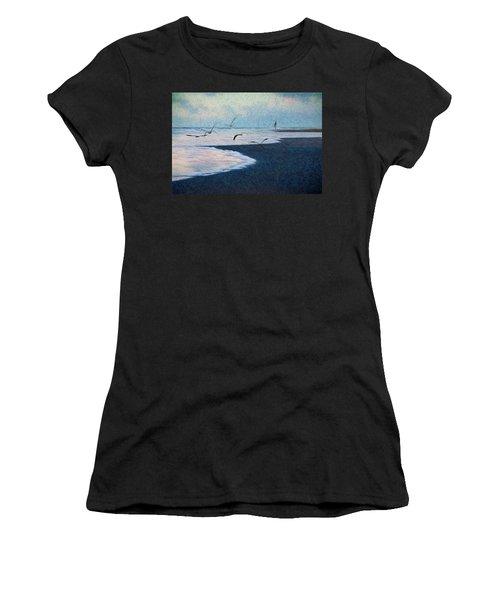Hide Tide Women's T-Shirt (Athletic Fit)