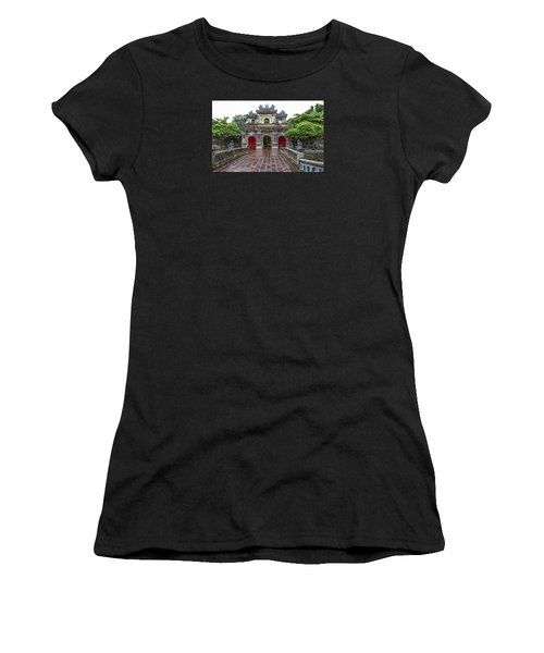 Hien Nhon Gate, Citadel, Hue,vietnam Women's T-Shirt