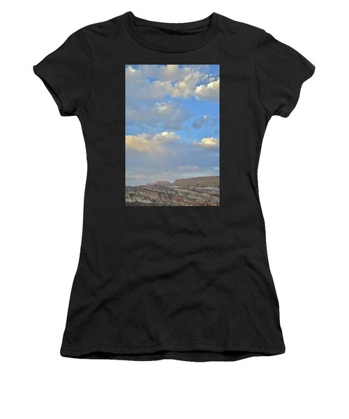 High Clouds Over Caineville Wash Women's T-Shirt