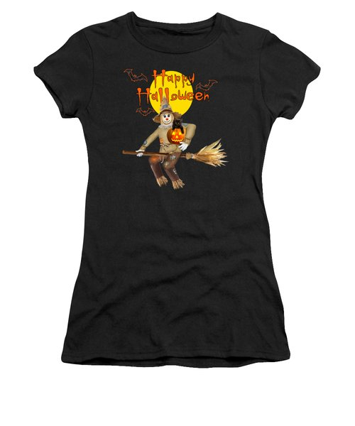 High Flying Scarecrow Women's T-Shirt (Athletic Fit)