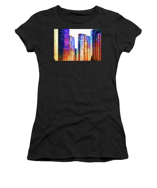 High Rise Abstract Women's T-Shirt