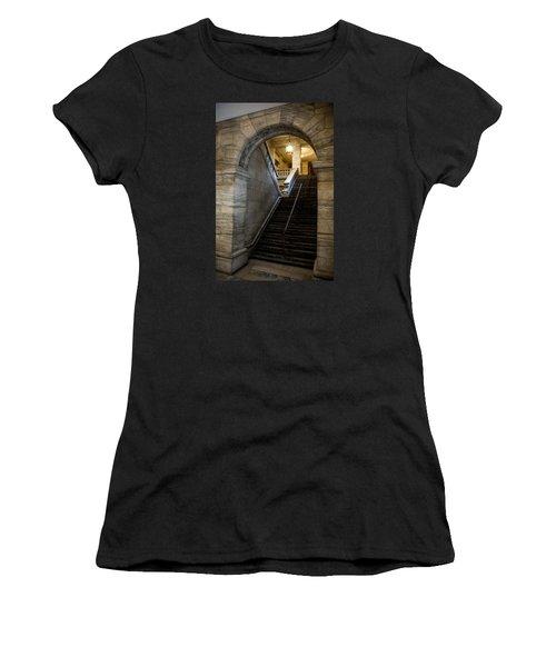 Higher Knowledge Women's T-Shirt (Junior Cut) by Allen Carroll