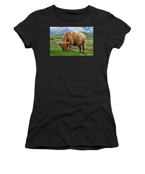 Highland Cow Women's T-Shirt