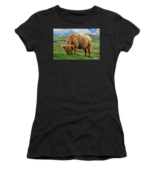 Highland Cow Women's T-Shirt