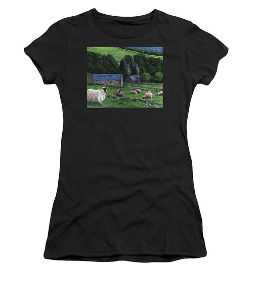 Highland Croft Women's T-Shirt (Athletic Fit)