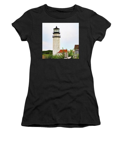 Highland Lighthouse II Women's T-Shirt (Athletic Fit)