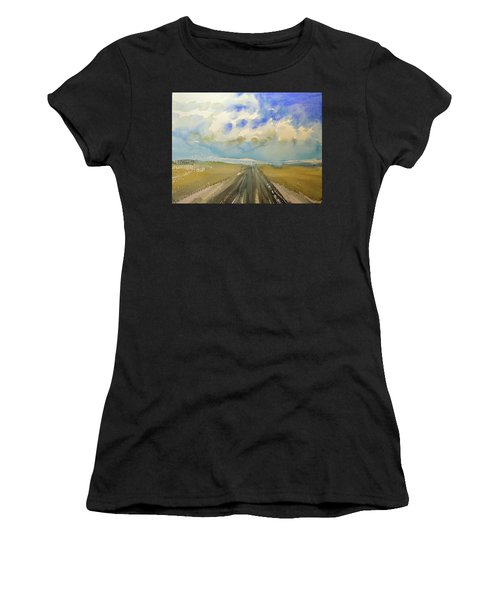Highway Women's T-Shirt (Athletic Fit)