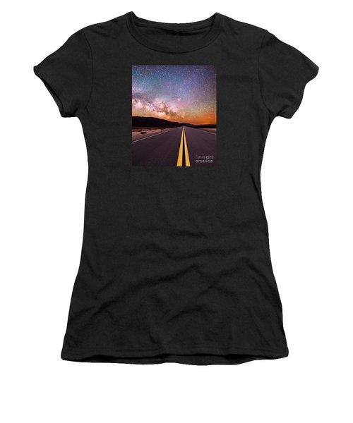 Highway To Heaven Women's T-Shirt (Athletic Fit)
