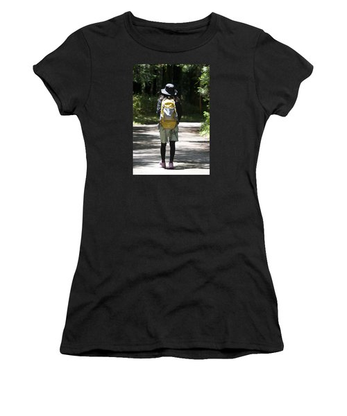 Hiker Women's T-Shirt (Athletic Fit)