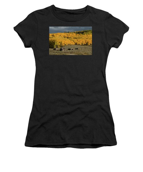 Hills Afire Women's T-Shirt (Athletic Fit)