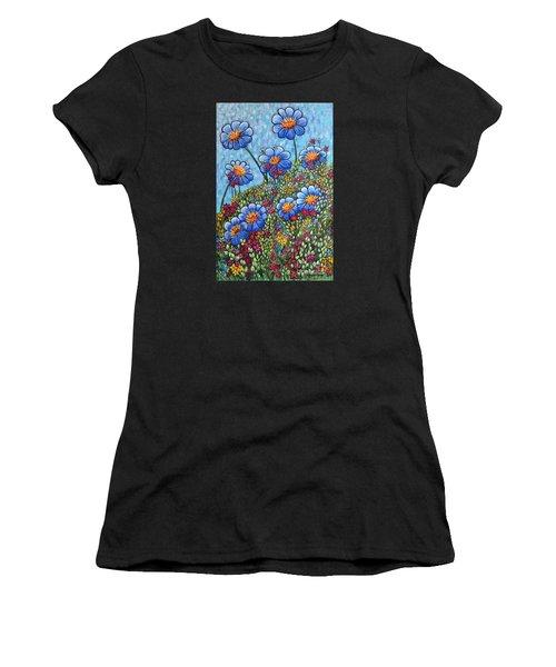 Hillside Blues Women's T-Shirt (Athletic Fit)