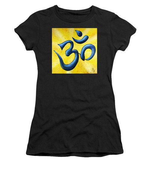 Hindu Om Symbol Art Women's T-Shirt (Athletic Fit)