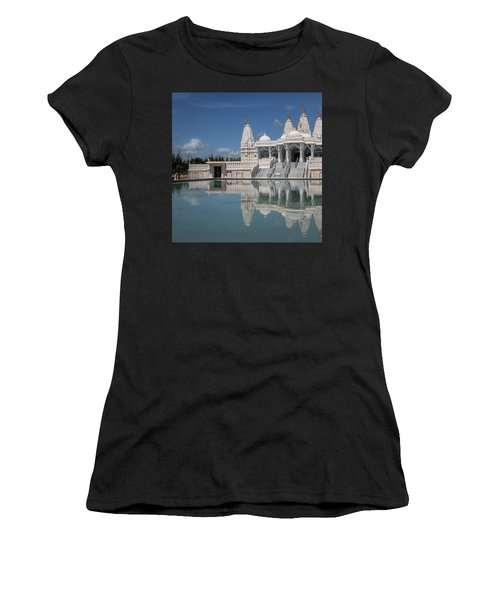 Women's T-Shirt featuring the photograph Hindu Temple by James Woody