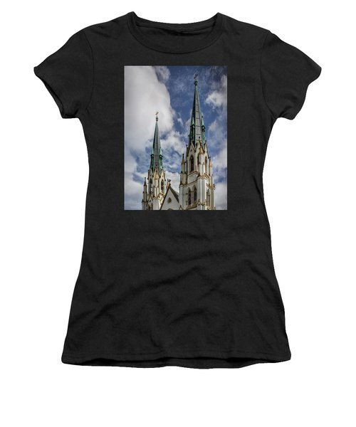 Women's T-Shirt featuring the photograph Historic Architecture by James Woody
