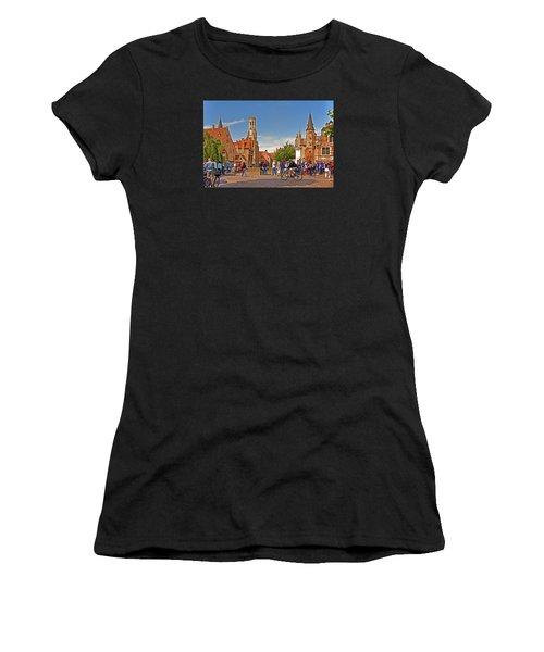Historic Bruges Women's T-Shirt (Athletic Fit)