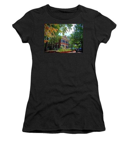 Historic Dahlonega Georgia Courthouse Women's T-Shirt