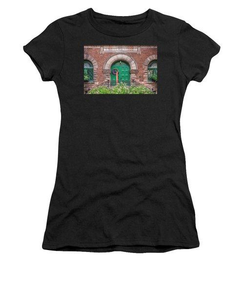 Historic Elks Club Building Geneva New York Women's T-Shirt